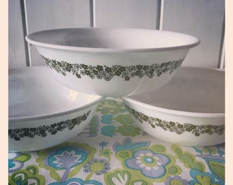 Corelle by Corning - Spring Blossom bowls.