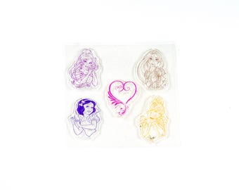 Clear stamp princess.