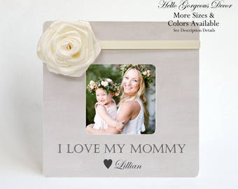 Mother's Day Gift from Kids Picture Frame Personalized Custom Gift to Mom Mother New Mom To Be Mother's Day Gift Ideas Expecting Pregnancy