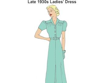 RH1320 — 1930s Dress