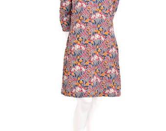 Julia silk dress in Liberty print