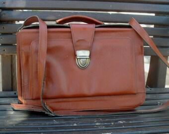 Leather shouder bag