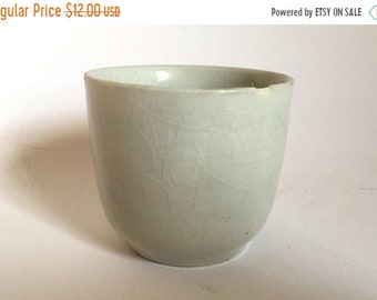 Sale - Antique 1800's English Ironstone Pottery Cup