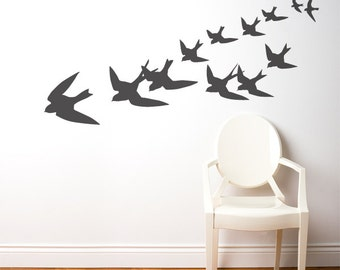 Freedom - Wall Decal - Charcoal