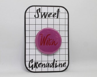 Witch Button // Feminist Badge