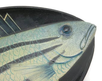 Lacquer Fish Tray - Figural, Chinese