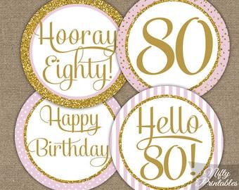 80th birthday party Etsy