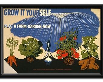Grow it Yourself - Plan a Farm Garden Now
