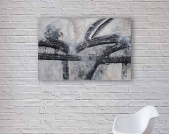 Original Abstract Painting | Modern Acrylic Art | Canvas Wall Art | 91x60