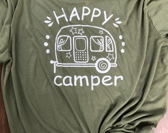 Happy camper soft tee