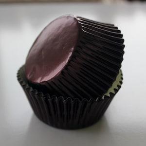 DARK BROWN Cupcake Liners
