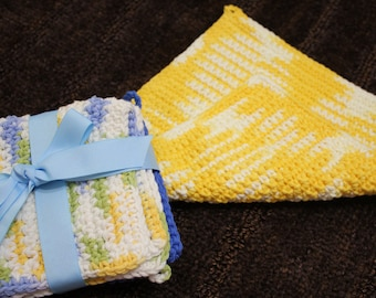 Crochet Dishcloth \ Wash cloth