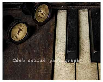 organ stops and keys