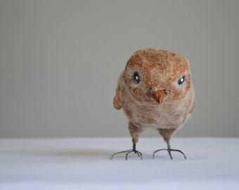 Bird Art Doll. OOAK Handmade Doll. Home Decoration.