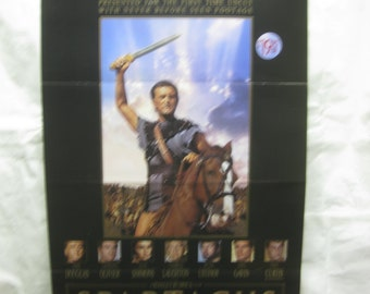 Spartacus 1960 Movie Poster mp133