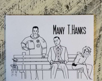 Many T.Hanks - Tom Hanks Thank You Card