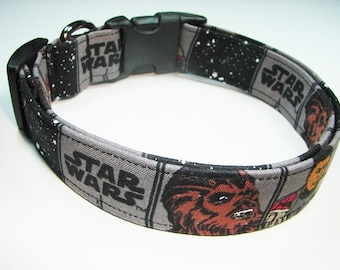 Star Wars the Force Awakens Chewbacca Dog Collar