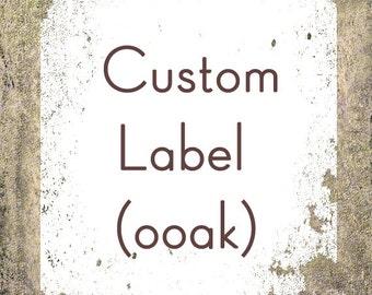 Custom Label Design - OOAK Business Label