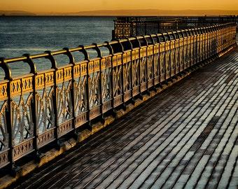 Golden railings