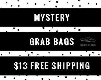 Promotional | Mystery Grab Bag| Mystery Gift | Surprise Gift Bag | Handstamped Jewelry