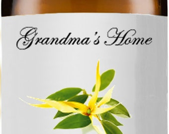 Ylang Ylang Oil - 5mL+ - Grandma's Home 100% Pure and Natural Theraputic Aromatherapy Grade Essential Oils