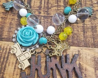 JUNK GYPSY Charm Necklace