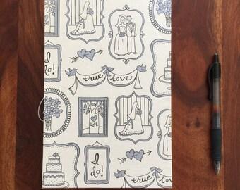 Handmade Wedding or Anniversary Journal