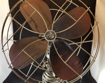 Mid-Century  Vintage Emerson Electric Oscillating Fan