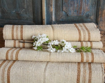 S72: antique, HONEY CARAMELL, 5.13y, 20.08inches wide, lin, upholsteryric, tablerunner, cushion, decor, french lin, fabric by the yard