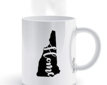 New Hampshire Home State Pride Coffee Mug