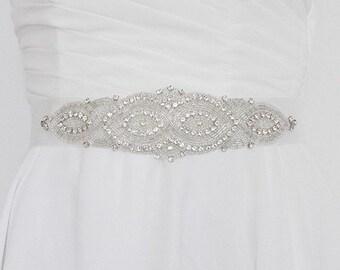 Bridal sash 'Art Deco'
