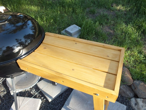 Items Similar To Vintage Style Patio Bbq Side Table For