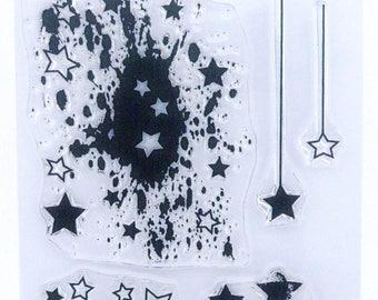 Stars mix - A6 Stamp Set by Imagine Design Create