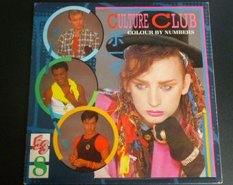 Culture Club Colour By Numbers Vinyl Record LP QE 39107 Virgin Records 1983