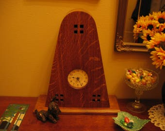 Arts & Carfts Mantle Clock