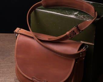 Saddle bag leather saddle bag leather shoulder bag messenger bag handmade leather crossbody bag leather saddle handbag leather purse