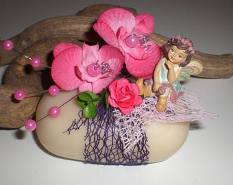 Decorative fairy and flowers 219 SOAP