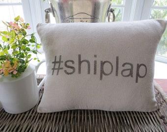 shiplap pillow cover, #shiplap, farmhouse pillow, farmhouse decor