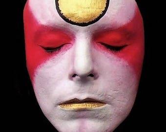 Life Face Cast - David Bowie - Ziggy Stardust