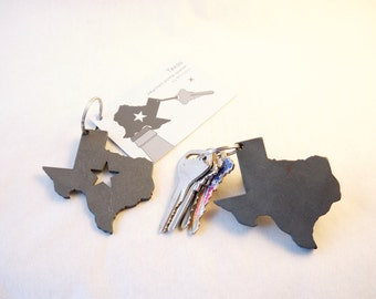 Texas keychain bottle opener