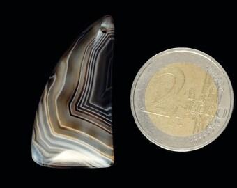 Interesting Stripes Agate pendant stone (EA358)