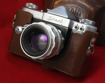 KMZ! START Film Camera + Helios 44 13 blades F/2 58mm USSR