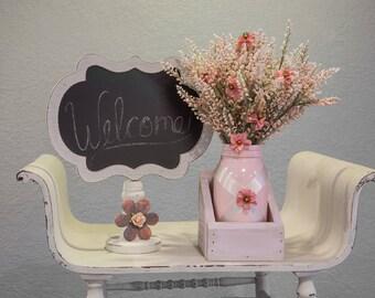 Mason Jar Pink Baby