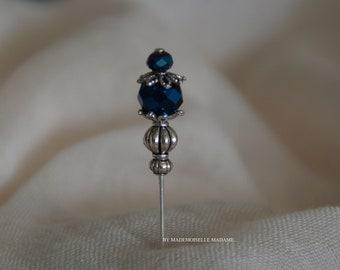 """""""Ela"""" FABRICATION ARTISANALE brooch (PIN, hijab pin, Veil, pin, lapel)"""