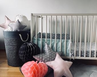 Playmat, Star mat, Crawling mat, Nursery decor, Baby gift, Activity mat, Baby mat, Floor mat, Bedside mat, Design mat, Baby Gift