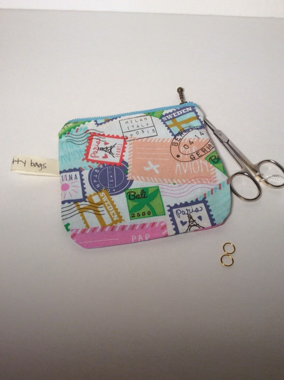 Zippered Notion Pouch
