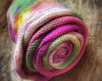 Make Magic sock blank - Handdyed fingering weight yarn