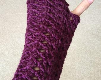 Crochet Fingerless Gloves / Mittens