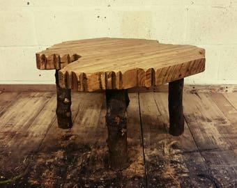 Unusual Handmade Reclaimed Wood Table