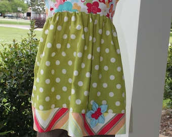 Boutique Halter Top and Ruffle Shorts, girls size 5, ready to ship